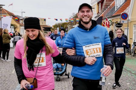 Walk and talk skagen marathon
